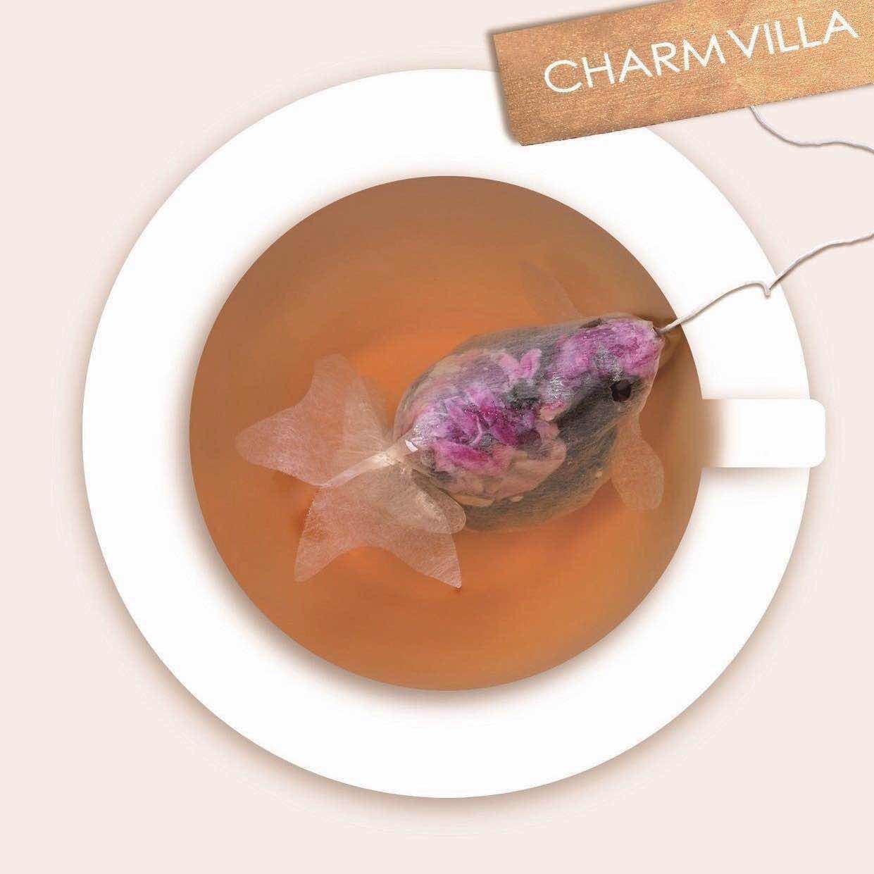 Would you like some goldfish tea?