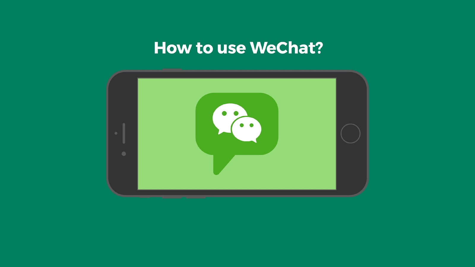 How to Use WeChat: An Introduction for Beginnners